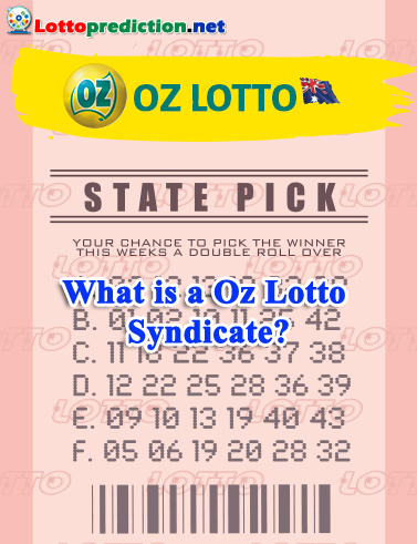 What is a Oz Lotto Syndicate?